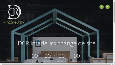 Site internet de DCR Interieurs