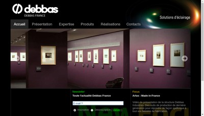 Site internet de Debbas France