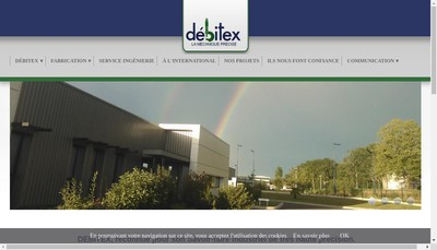 Site internet de Debitex