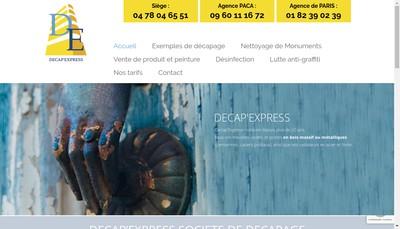 Site internet de Decap'Express