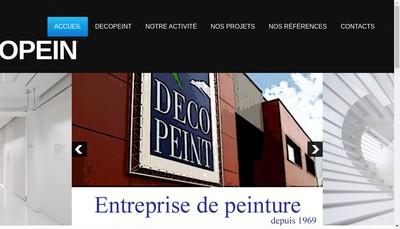 Site internet de Decopeint