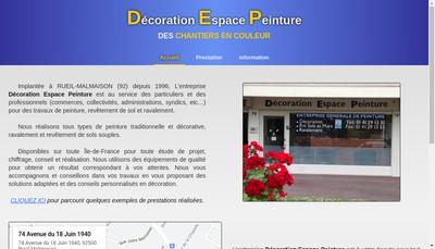 Site internet de DEP
