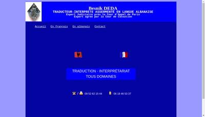 Site internet de Besnik Deda