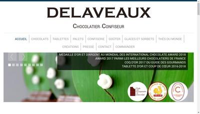Site internet de Delaveaux