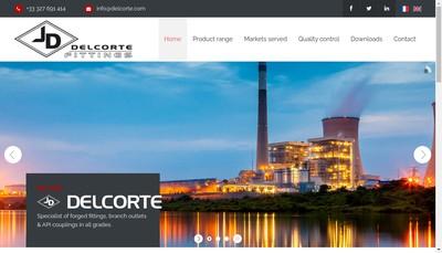Site internet de Etablissements Delcorte