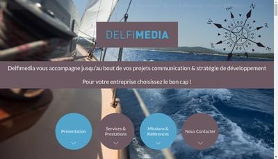 Site internet de Delfimedia