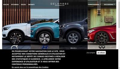 Site internet de SAS Delhorbe Automobiles
