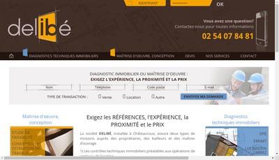 Site internet de Delibe