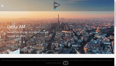 Site internet de Delta Alternative Management SAS