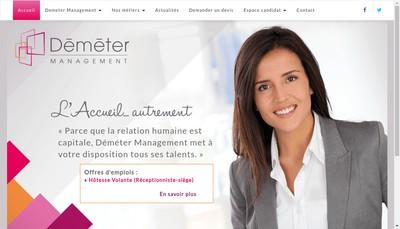 Site internet de Demeter Management