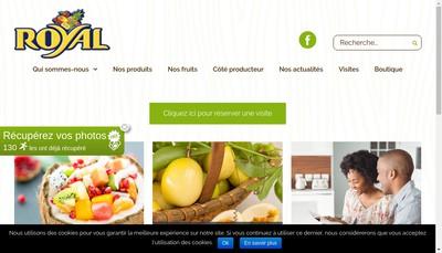 Site internet de Royal