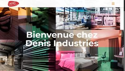 Site internet de Denis Industries