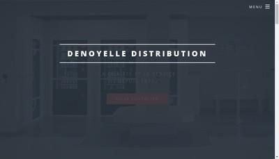 Site internet de Denoyelle Distribution