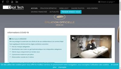 Site internet de Dehti