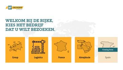 Site internet de De Rijke Atlantique