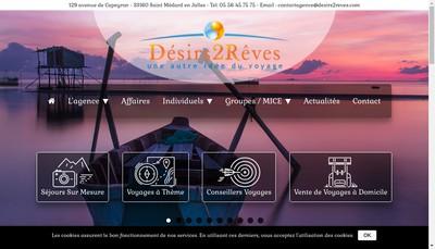 Site internet de Desirs de Reves Com