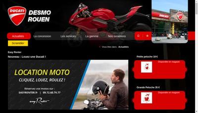 Site internet de Desmo Rouen