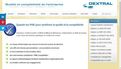 Site internet de Dextral