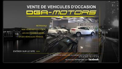 Site internet de Dga Motors