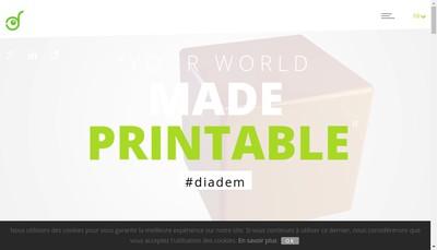 Site internet de Diadem