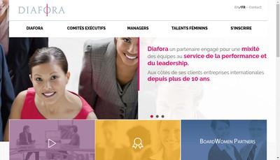 Site internet de Diafora