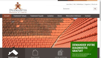 Site internet de Diamantis