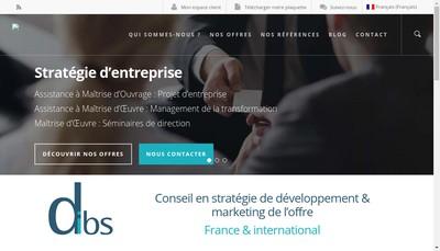 Site internet de Dibs Conseil