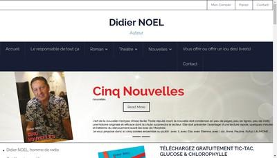 Site internet de Didier Noel