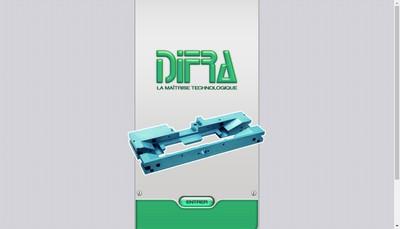 Site internet de Difra-Comtoise de Mecanique