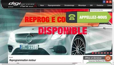 Site internet de Digi Services Paris Sud
