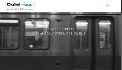 Site internet de Digital By Bus