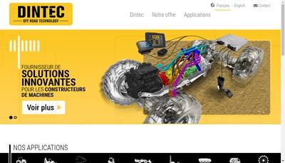 Site internet de Dintec
