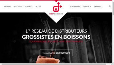 Site internet de Distriboissons