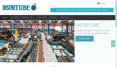 Site internet de Distritube SA