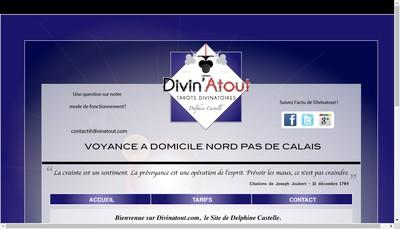 Site internet de Divin'Atout