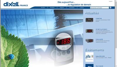 Site internet de Dixell France