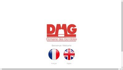Site internet de DMG