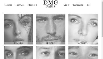 Site internet de Dmg Paris