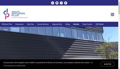 Site internet de Docone