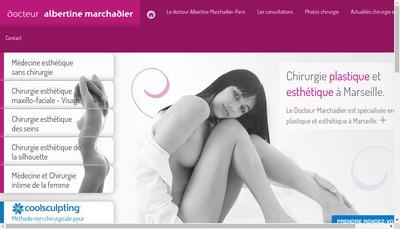 Site internet de Albertine Marchadier
