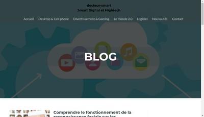 Site internet de Docteur Smart