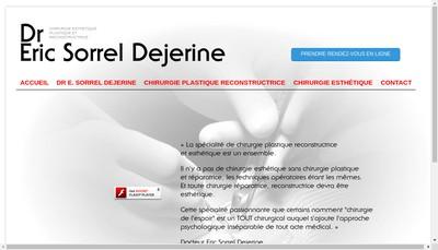 Site internet de Eric Sorrel-Dejerine