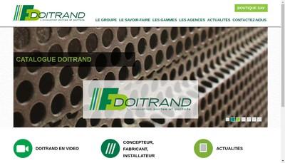 Site internet de Etablissements Doitrand