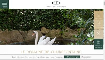 Site internet de Clairefontaine