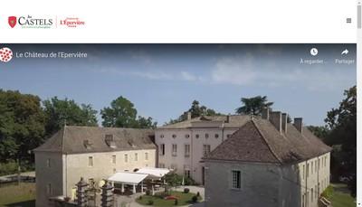 Site internet de Chateau de l'Eperviere
