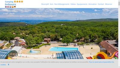 Site internet de Domaine d'Imbours