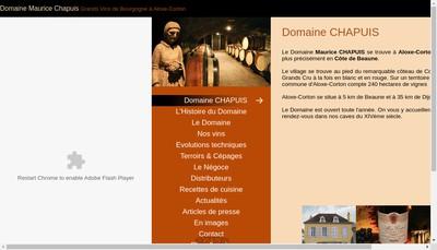 Site internet de Maurice Chapuis