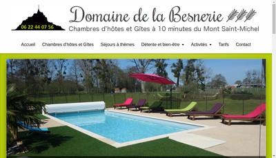 Site internet de La Besnerie