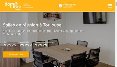 Site internet de Dom & Work