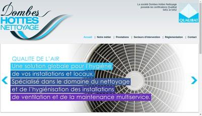 Site internet de Dombes Hottes Nettoyage
